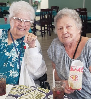 Cabot Cove of Largo Assisted Living Fun at Social Gatherings