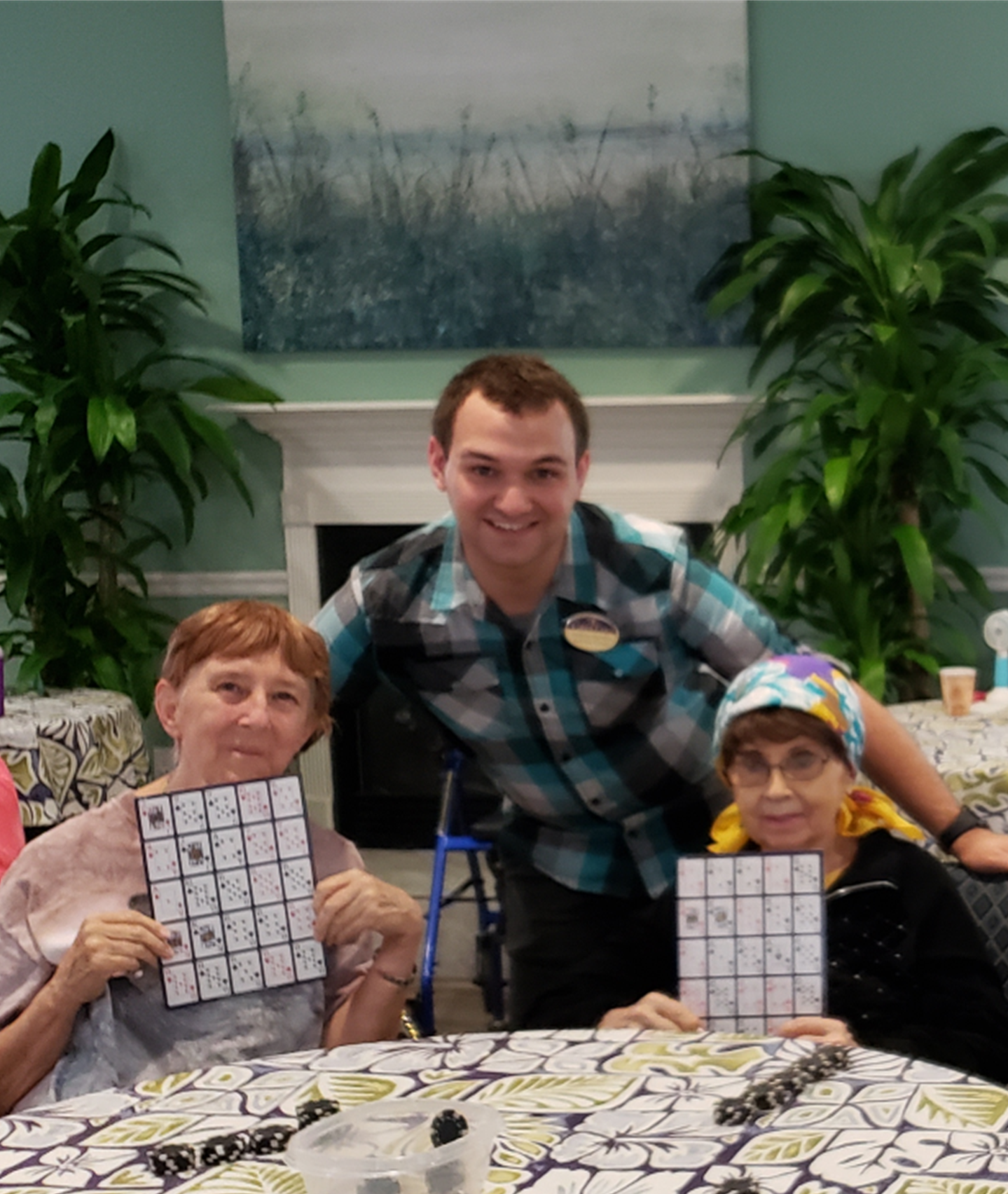 Seniors having fun at Cabot Cove of Largo Assisted Living