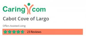 Caring.com Cabot Cove of Largo Assisted Living Rating